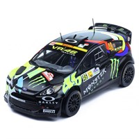 IXO Ford Fiesta RS WRC - 1st 2012 Monza Rally - #46 V. Rossi 1:18