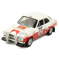 IXO Ford Escort Mk.1 RS 1600 - 1971 RAC Rally - #12 H. Mikkola 1:18