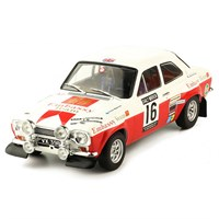 IXO Ford Escort Mk.1 RS 1600 - 1971 RAC Rally - #16 T. Makinen 1:18