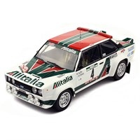 IXO Fiat 131 Abarth - 1st 1978 Rally Portugal - #4 M. Alen 1:18