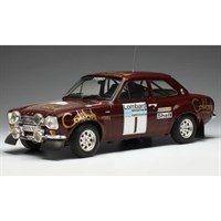 IXO Ford Escort RS 1600 Mk1 - 1st 1974 RAC Rally - #1 T. Makinen 1:18