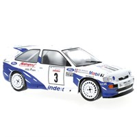 IXO Ford Escort RS Cosworth - 1st 1993 Rally France - #3 F. Delecour 1:18