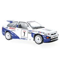IXO Ford Escort RS Cosworth - 1993 Rally France - #7 M. Biasion 1:18