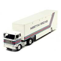 IXO Volvo F88 Transporter - Martini Racing 1:43