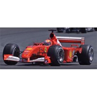 IXO Ferrari F2001 - 1st 2001 French Grand Prix - #1 M.Schumacher 1:43