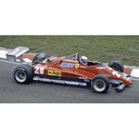 IXO Ferrari 126C2 - 1st 1982 Dutch Grand Prix - #28 D.Pironi 1:43