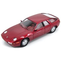 Kess Porsche 928 Custom Factory 4-Door Sedan 1986 - Red 1:43