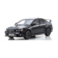 Kyosho Mitsubishi Lancer Evolution X - Black 1:18