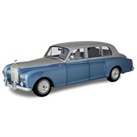 Kyosho Rolls-Royce Phantom VI - Light Blue/Silver 1:18