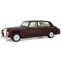 Kyosho Rolls-Royce Phantom VI - Burgundy/Black 1:18