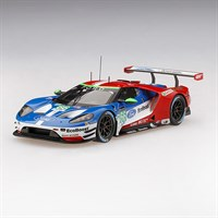 TrueScale Miniatures Ford GT - 2017 Le Mans 24 Hours - #66 1:43