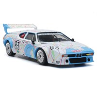 BMW M1 - 1980 Le Mans 24 Hours - #83 1:43