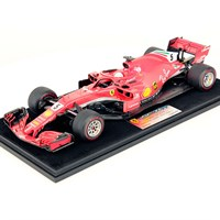 Look Smart Ferrari SF71H - 1st 2018 Canadian Grand Prix - #5 S. Vettel 1:18