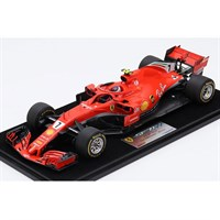 Look Smart Ferrari SF71H - 1st 2018 American Grand Prix - #7 K. Raikkonen 1:18