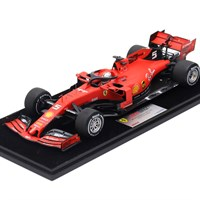 Look Smart Ferrari SF90 - 1st 2019 Singapore Grand Prix - #5 S. Vettel 1:18