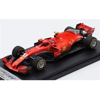 Look Smart Ferrari SF71H - 1st 2018 American Grand Prix - #7 K. Raikkonen 1:43