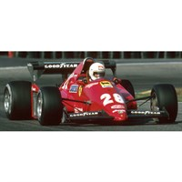 Look Smart Ferrari 126 C3 - 1st 1983 Dutch Grand Prix - #28 R. Arnoux 1:18