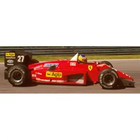 Look Smart Ferrari 156/85 - 1st 1985 Canadian Grand Prix - #27 M. Alboreto 1:18
