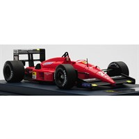 Look Smart Ferrari F1 87/88 - 1st 1988 Italian Grand Prix - #28 G. Berger 1:18