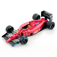 Look Smart Ferrari F1 640 - 1st 1989 Hungarian Grand Prix - #27 N. Mansell 1:18