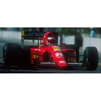 Look Smart Ferrari 642 - 1991 Monaco Grand Prix - #28 J. Alesi 1:18