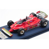Look Smart Ferrari 312 T5 - 1980 Canadian Grand Prix - #2 G. Villeneuve 1:18