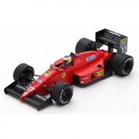 Look Smart Ferrari F1/87 - 1987 Monaco Grand Prix - #27 M. Alboreto 1:43