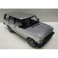 Range Rover Series 1 1986 - Silver 1:18
