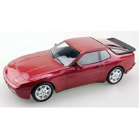Lucky Step Porsche 944 S Turbo 1991 - Dark Red Metallic 1:18