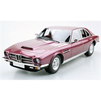 Lucky Step Aston Martin Lagonda Saloon 1974 - Burgundy 1:18