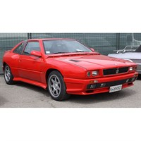 Lucky Step Maserati Shamal - Red 1:18