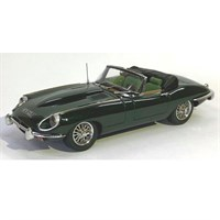 Matrix Jaguar E-Type SII Roadster 1970 - Green 1:43
