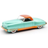 Matrix Chrysler Thunderbolt Concept LeBaron 1941 Closed - Green Metallic 1:43