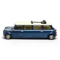 Matrix Mini Cooper Limousine 1990 - Blue/White 1:43