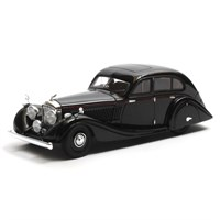 Matrix Bentley 4.5 Litre Gurney-Nutting Airflow Saloon 1936 - Black 1:43