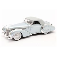 Matrix Delahaye 145 V12 Franay Cabriolet Closed 1946 - Blue Metallic 1:43