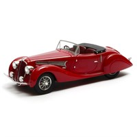 Matrix Delahaye 135 MS Figoni & Falaschi Open 1939 - Red 1:43