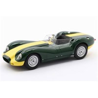 Matrix Lister-Jaguar Knobbly 1957 - Green/Yellow 1:43