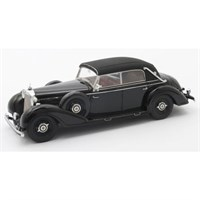 Mercedes 770 Cabriolet D Closed Roof 1938 - Black 1:43