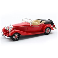 Matrix Mercedes 500K Four Passenger Tourer - Red 1:43