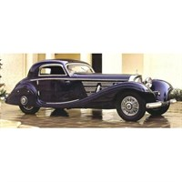 Matrix Mercedes 540K W29 Spezial Coupe 1936 - Blue 1:43