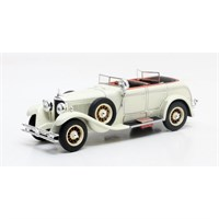 Matrix Mercedes Model K Torpedo Saoutchik 1926 - White 1:43