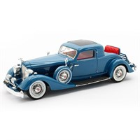 Matrix Packard 1108 Twelve Stationary Coupe Dietrich 1934 - Blue 1:43