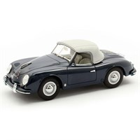 Matrix Porsche 356 America Roadster Closed Version 1952 - Blue 1:43