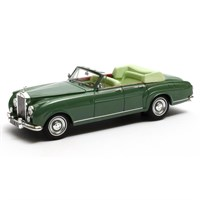 Matrix Rolls-Royce Silver Cloud Mulliner 4-Door Cabriolet 1962 Open - Green 1:43