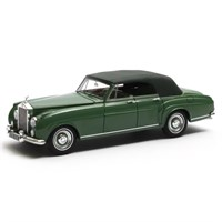 Matrix Rolls-Royce Silver Cloud Mulliner 4-Door Cabriolet 1962 Closed - Green 1:43