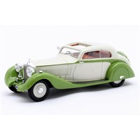 Matrix Rolls-Royce Phantom II Continental Sports Coupe 1935 - Maharajah Of Jodhpur - Green/Cream 1:43