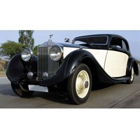 Matrix Rolls-Royce Phantom II Continental Sports Coupe 1935 - Cream/Black 1:43