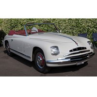 Matrix Alfa Romeo 6C 2500 Ghia Convertible 1947 - White 1:43