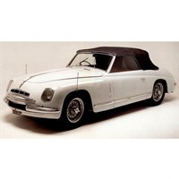 Matrix Alfa Romeo 6C 2500 Ghia Convertible Closed 1947 - White 1:43